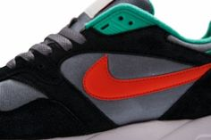 Nike Air Base II – Black / Cool Grey / Atomic Teal