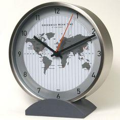 "6"" Convertible Global Wall Clock"