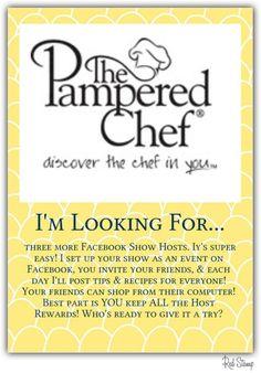 Contact me today! www.pamperedchef.biz/dmetreyeon