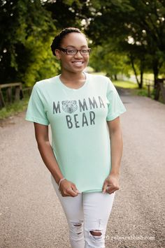 Momma Bear - Fun Graphic T-shirt