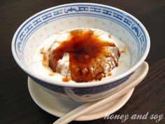 Gula Melaka Sago - Sago Pudding with Palm Sugar and Coconut Cream