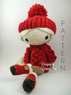 Alejandra  Amigurumi Doll Crochet Pattern PDF von CarmenRent