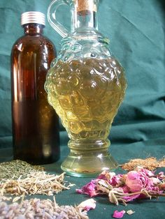 Organic Medieval Lavender Healing Herbal Vinegar Toner by MisticalAcScents.etsy.com | Flickr - Photo Sharing!