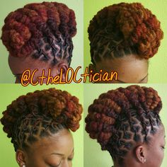 Locs, locs with color, ombre, wedding hair, loc styles, updos, loc updos, nice locs, beautiful locs, beautiful hair, braids, natural hair, loctician in Jacksonville Florida, best styles for everyday wear, hair art, loc art, not dread locs, Ciara the LOCTICIAN, CtheLOCtician.com, @CtheLOCtician