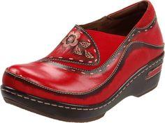Spring Step Women's Burbank,Red,40 EU/9.5-10 M US