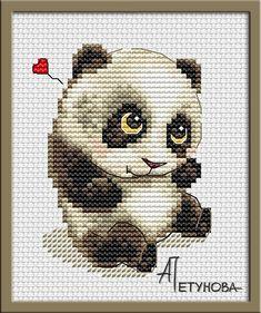 Малыш панда Дизайнер Анна Петунова