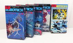 Robotech Anime Cartoon VHS Lot 1985 Robotech by naturegirl22