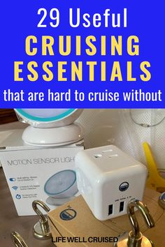 29 Best Cruise Essentials you'll want to pack for your cruise vacation. This is a must have list of items to bring on your cruise. The cruise items are all available from Amazon, and are vefry popular with pro cruisers! #cruiseaccessories #cruisetips #cruises #cruisetravel #cruiseessentials Cruise Port, Cruise Travel, Cruise Vacation, Disney Cruise, Vacation Ideas, Vacation Spots, Packing List For Cruise, Cruise Tips, Packing Lists