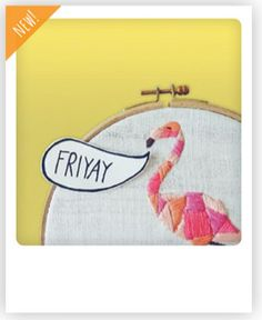 FRIYAY Friday? ;-) Flamingo-Gruß