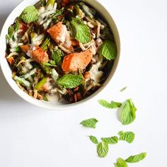 www.sizzlefish.com  How to use your homemade Sizzlefish Sockeye Salmon - turn it into this bowl of goodness with bean sprouts, cashews, and that delicious salmon! via @thecastawaykitchen _ Head to our website: www.sizzlefish.com to order your perfectly portioned fish and she