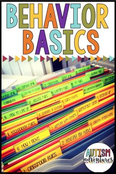 Behavior Curriculum for students with special needs. Teach students basic behavior skills needed for the classroom. Classroom management curriculum