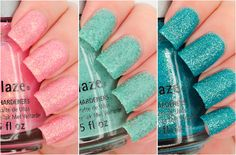 Swatched: China Glaze Sea Goddess Collection