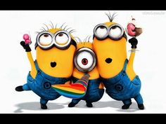 ♥♥ MINIONS ♥♥ Official Happy Birthday Song ♥♥ - YouTube