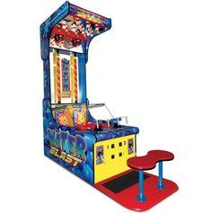 Water Blast Arcade Game! - $11,000.00 http://www.strictlymancave.com/water-blast-arcade-game/ #water #blaster #mancave