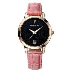 SANDA 2017 Luxe Midnight Wrist Watch