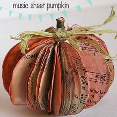 Book page pumpkins...we still have a bunch of books! gilbertDIY.wordpress.com pinterest.com/gilbertDIY