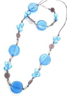 Blue necklace I like