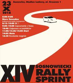 """Może trudno w to uwierzyć, ale Rally Sprinty w Sosnowcu to już 12 lat tradycji. W niedzielę 23 października zapraszamy na kolejny, XIV Sprint """"Na Pograniczu"""". Nasze zaproszenie kierujemy do kierowców amatorów i tych z licencją sportu samochodowego, ale także do kibiców, z każdym rokiem coraz liczniej oglądających sportowe zmagania. Próba sportowa w zmienionej do..."""