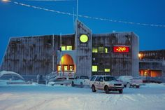 Welcome to Barrow Alaska, northernmost city in the United States.  Where thoughts freeze.  (City Hall, Barrow, Alaska)
