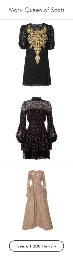 """""""Mary Queen of Scots"""" by lucyhalliday on Polyvore featuring dresses, vestidos, short dresses, sukienki, black, lace slip, short black dresses, lace slip dress, black mini dress and mini dress"""