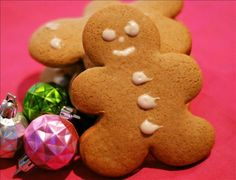 Gingerbread Men Cookies from Food.com: I have never really liked Gingerbread cookies until I found this recipe. It has a mild flavor, thanks to the fact that the recipe doesn't call for Molasses. This recipe was adapted from the Whistlestop Cafe. They make soft on the inside, slightly crispy on the outside cookies