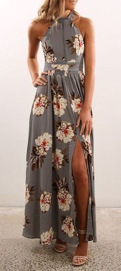 415c5f62ab2 35 Cheap Floral Dress Outfit Ideas for Fall and Summer