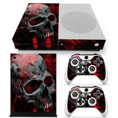 Precise Sony Ps4 Playstation 4 Pro Skin Sticker Screen Protector Set Video Games & Consoles Grim Reaper Motif Video Game Accessories