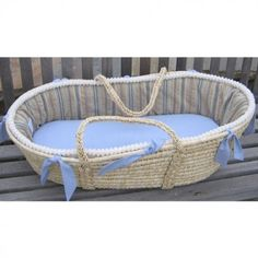 Maddie Boo Cale Moses Basket - M-295