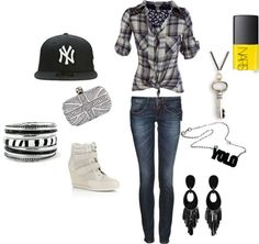 """""""Tom Boy Casual"""" by danielle-radigan on Polyvore"""