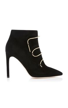Click product to zoom Black High Heels, Black Ankle Boots, Leather Ankle Boots, Black Shoes, Funky Shoes, Street Style Shoes, Princess Shoes, Girls Heels, Unique Shoes