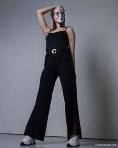 Portrait, Jumpsuit, Dresses, Fashion, Masks, Wedding, Woman, Overalls, Vestidos