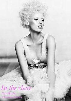 From Chumba Concept salons, Australia, artistic director Carl Keeley presents Diamonds, a dazzling collection of creative textures and shapes.    Image courtesy of Creative Head: http://www.creativeheadmag.com/salon-style/carl-keeley/#