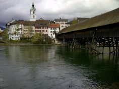 Olten Covered Bridges, Continents, Barns, Places Ive Been, Countries, Cities, Beautiful Places, Heaven, Europe