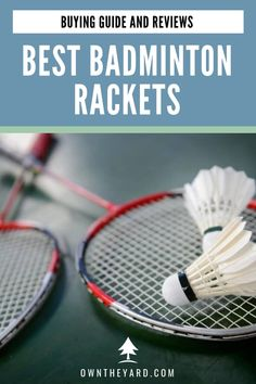 Are you looking a brand new badminton racket that suits your playstyle? We have created a list of some of the best badminton racket for each kind of player Best Badminton Racket, Tennis Racket, Backyard Playground, Backyard Games, Backyard Ideas, Fun Outdoor Activities, Family Activities, Outdoor Play Areas, Pool Games