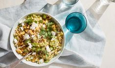 Charred and Raw Corn Salad with Tomatillo Relish | EyeSwoon