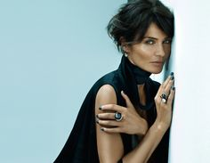 Ole Lynggaard Copenhagen Back to Basics Jewelry Collection with Helena Christensen Helena Christensen, Beautiful Soul, Most Beautiful Women, Beautiful People, Love Fashion, Fashion Models, Fashion Beauty, Fashion Photo, Paul Banks