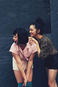 Jenn & Sarah from ClothesEncounters Asian Fashion, Fashion Beauty, Women's Fashion, Jenn Im, Friendship Photography, Clothes Encounters, Fashion Story, Girl Crushes, Amazing Photography