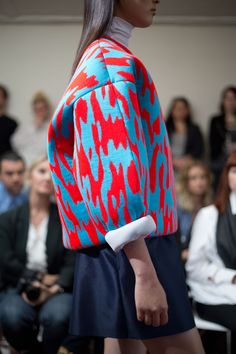 """Have been seeing more red/turquoise/ black lately, I hadn't thought of it but it does have a certain impact (thanks to wearcolor for this)      2013 Capsule Collection  """"Jumpstart"""""""