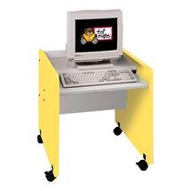 TotMate 1000 Series x Rectangular Activity Table Side Finish: Library Furniture, Art Furniture, Mobile Computer Desk, Preschool Furniture, Classroom Desk, Teaching Supplies, School Desks, Office Desk, Frame