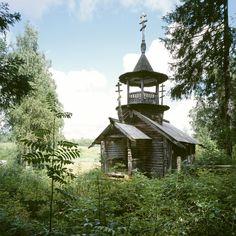 Kokkoila, Karelia region, Chapel of St Barbara (early 18th C)