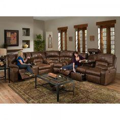 Dakota Living Room - Sofa, Loveseat & Wedge - Sectional - Rustic (59639) : Sectional Sofas   Conn's