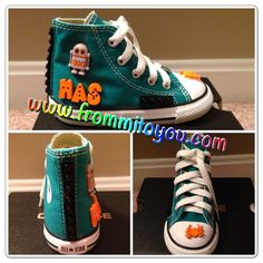 4531b8e1cf566b Shoe Gallery by From Mi To You  converse  lego  shoes  converse   chucktaylor  robot  kids  boy  frommitoyou  green