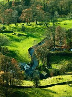 To go camping in the Peak District, Derbyshire