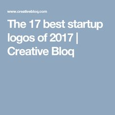 The 17 best startup logos of 2017 | Creative Bloq
