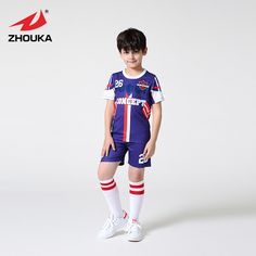 269f5bba1 Custom polyester quick dry kids adult soccer uniforms kits sublimation  breathable boys throwback football jerseys Price