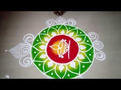 This type of rangoli is made on different occasions , festivals, events etc. I draw this galicha rangoli by using five fingers. its very simple and easy to l. Sanskar Bharti Rangoli Designs, Rangoli Simple, Latest Rangoli, Rangoli Designs Flower, Marriage Decoration, Diwali, Make It Simple, Decorative Plates, Colour