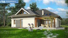 Proiecte case medii cu mansarda si garaj medium size house plans 2