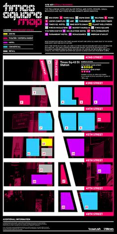 Times Square Map (Work in Progress) by _Untitled-1, via Flickr