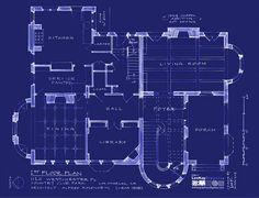 AHS Murder House plans, 1st floor. 3eec84508f674a37b945e73a93e96bc2.jpg (640×489)