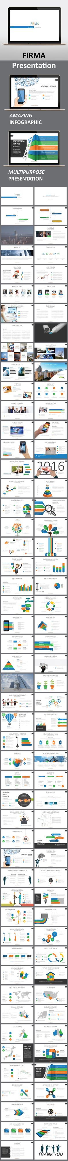 Firma PowerPoint Presentation Template. Download here: http://graphicriver.net/item/firma-presentation-template/15629405?ref=ksioks